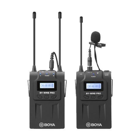 Boya UHF Dual Lavalier-Mikrofon Drahtlos BY-WM8 Pro-K1