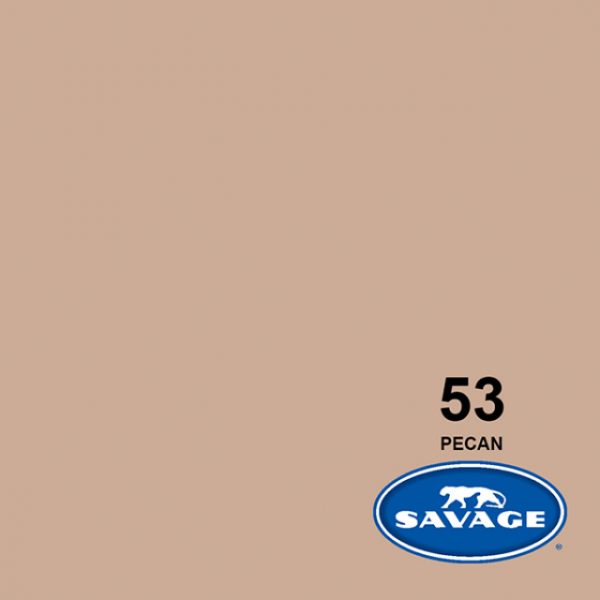 Savage Pecan Papier 11 x 2.72 m Hintergrund Rolle