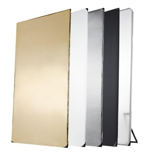 Walimex Pro 5in1 Reflektorpanel, 1x2m
