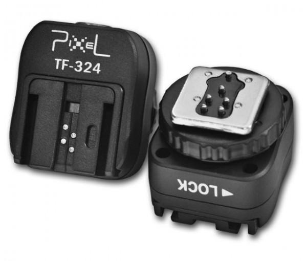 Pixel Hotshoe Adapter TF-324 für Sony Speedlite Kamerablitz