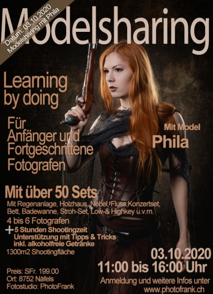 Modelsharing mit dem Model Phila am 03.10.2020