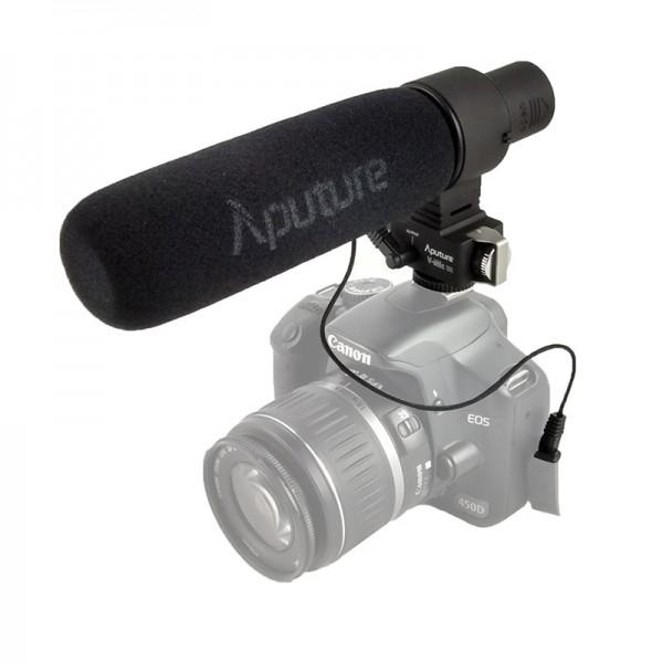 Aputure V-Mic D2 Externes Mono-Richtmikrofon für DSLRs oder spiegellose Systemkameras