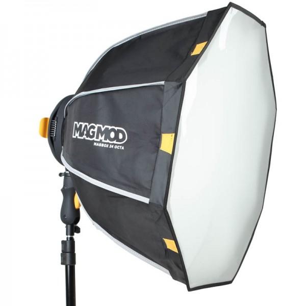 Magmod MagBox 24 Pro Kit für Aufsteckblitze -Set mit Softbox inkl. Diffusor, MagRing, MagShoe, Focus
