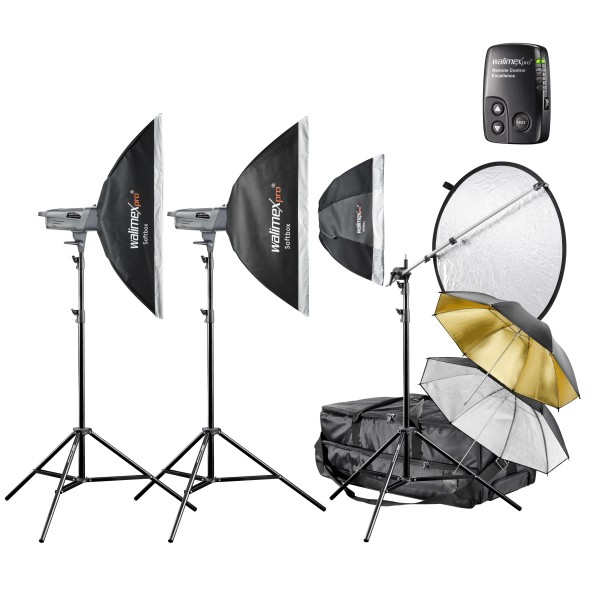Walimex Pro People & Portrait Studioblitz-Set Profi