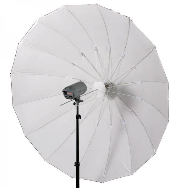 Quenox Parabol-Reflektor für Studioblitz 215 cm in weiss