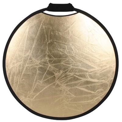 Matin Falt-Reflektor rund 80 cm Silber/Gold
