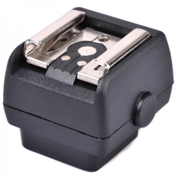 JJC Blitzadapter für Standard ISO Blitz an Sony/Minolta Kamerablitzschuh