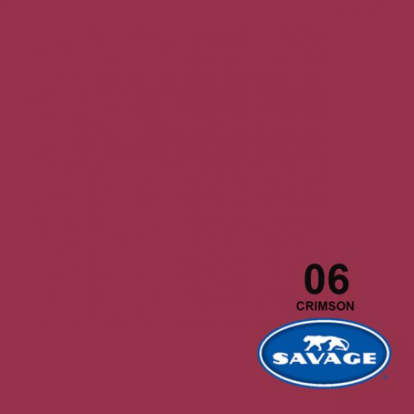 Savage Crimson Papier 11 x 2.72 m Hintergrund Rolle
