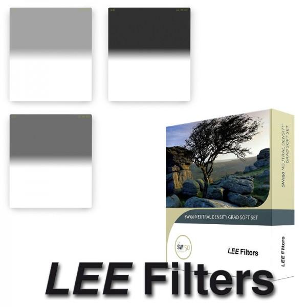 LEE Filters SW150 Soft Grad Set Filterset mit 3x Grauverlaufsfilter - SW150-System für Weitwinkelobj