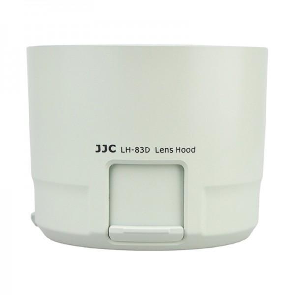 JJC Gegenlichtblende für Canon EF 100-400mm f/4.5-5.6L IS II USM - ersetzt Canon ET-83D - weiss