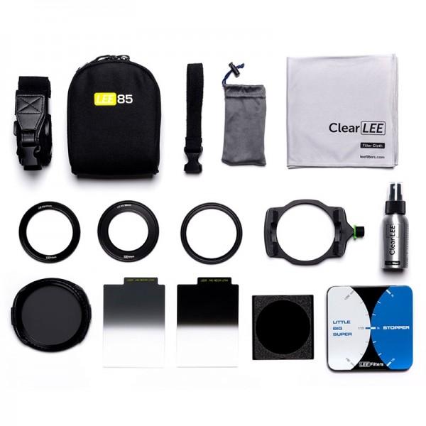 LEE Deluxe Kit Filterset 85 mm - Komplett-Set für die Landschaftsfotografie mit Filtern: Filterhalte