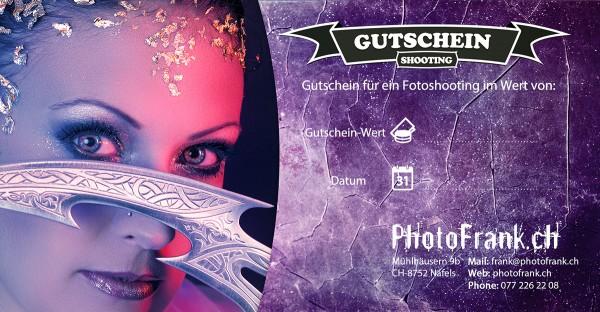 Fotoshooting – Gutschein - CHF 100.00