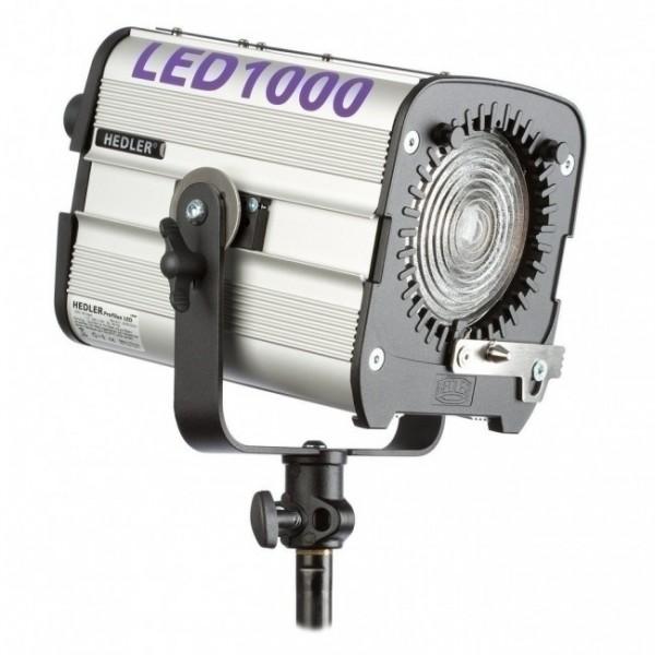 Hedler Profilux® LED1000 Flächenleuchte mit Fresnellinse